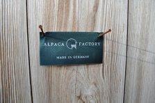 Webetikett Alpaka Factory